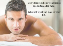 Don't forget all our treatments are suitable for men!Why not treat the man in your life.